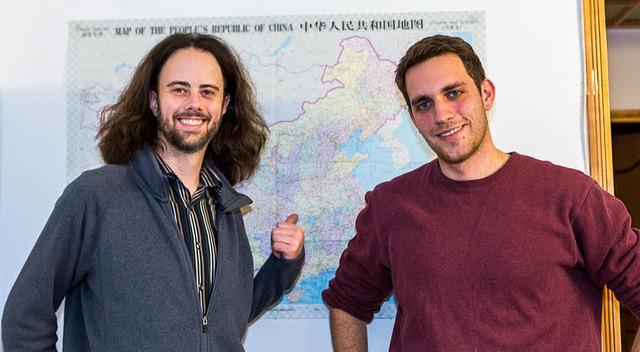 Picture of Dan and Matt.