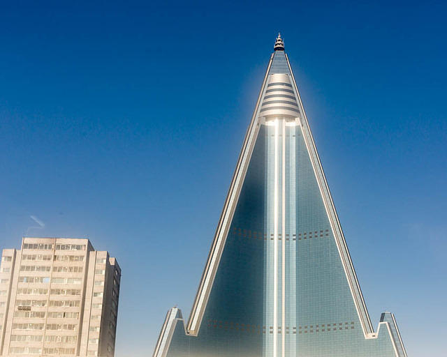 Podcast: Picture of Ryugyong Hotel.