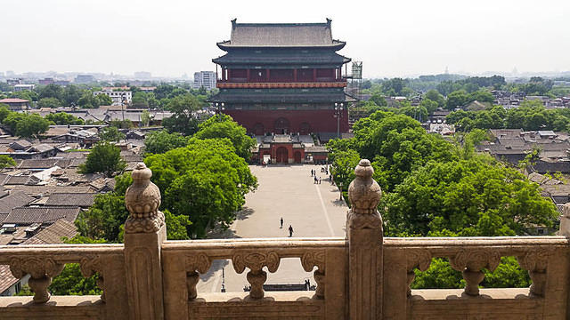 Podcast - Picture of Drum Tower.