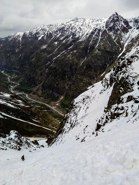 Picture of couloir.