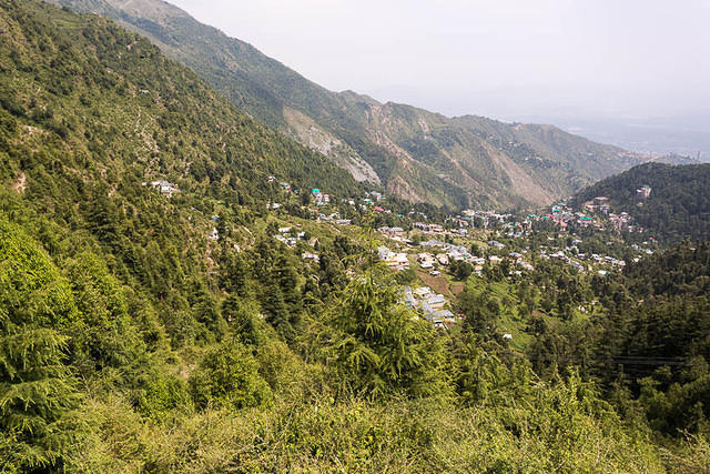India: Picture of Dharamkot, India.