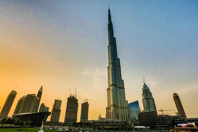Dubai: Picture of Burj Khalifa in Dubai, UAE.