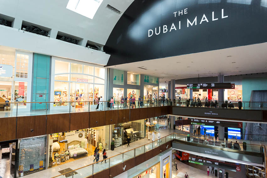 Dubai: Picture of Dubai Mall.