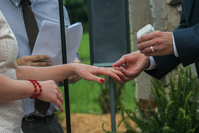 Wedding: Dan Perry and Katie Lepak.
