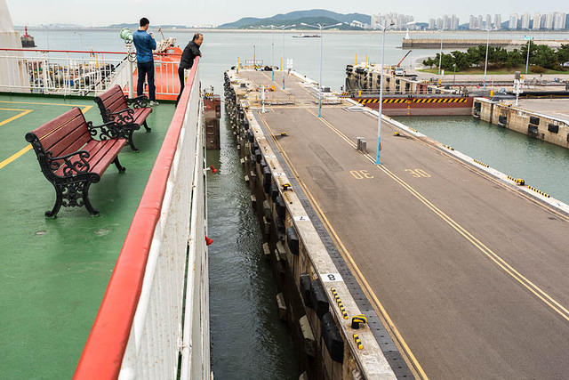 2016: Picture of Incheon Locks.