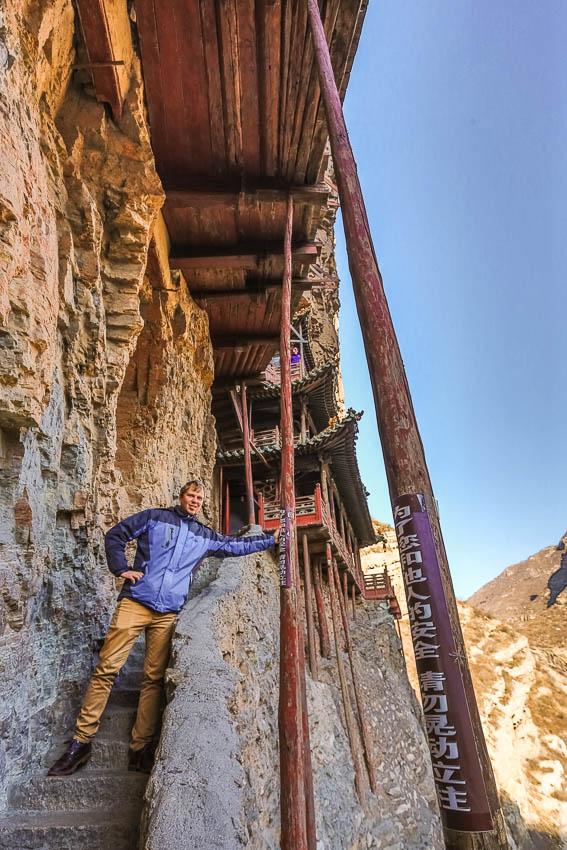 Li Song Mei: Picture of Xuan Kong Hanging Monsatery.