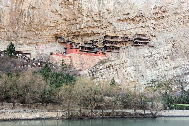 Li Song Mei: Li Song Mei: Picture of Xuan Kong Hanging Monsatery.