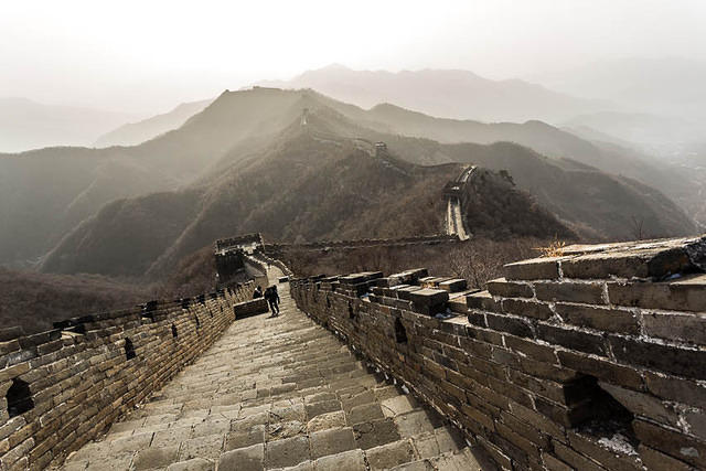 2016: Picture of Mutianyu Great Wall.