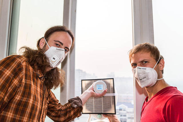 Smart Air - Picture of Dan and Paddy.