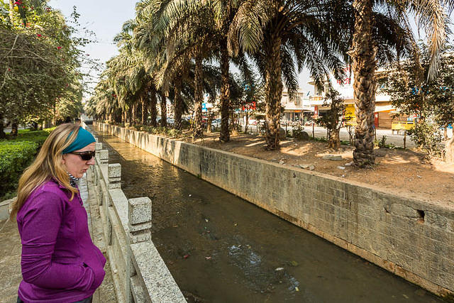 Chain Fail: Picture of Katie looking across the border between China and Myanmar.