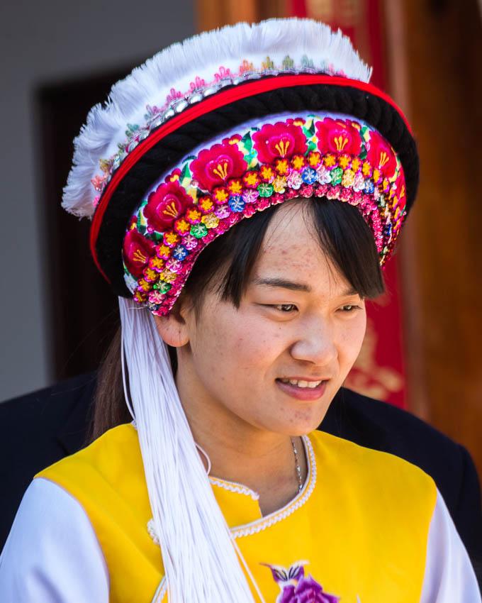 Erhai Lake: Picture of dancer.