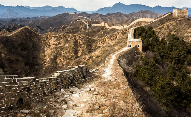 Gubeikou: Picture of Great Wall.