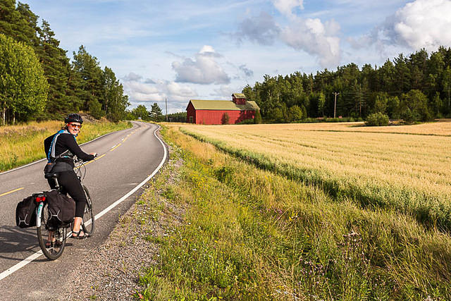 Finland: Picture of farmland.