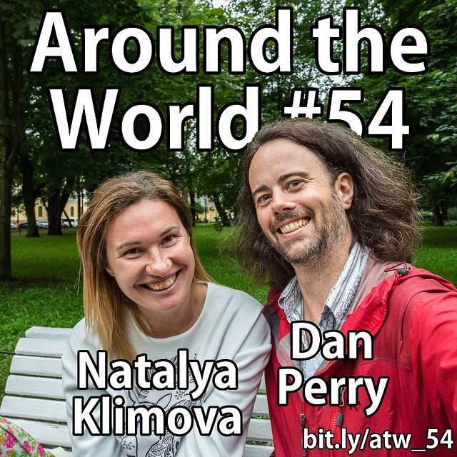 St. Petersburg: Picture of Natalya and Dan.