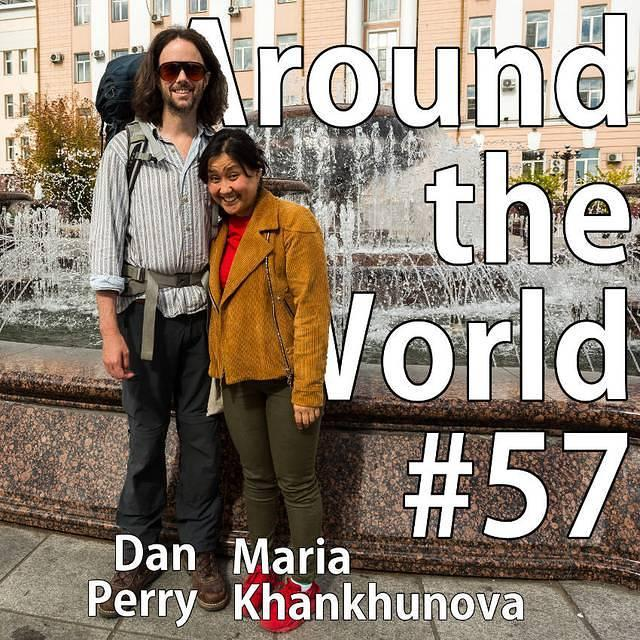 Ulan-Ude: Picture of Dan and Maria.