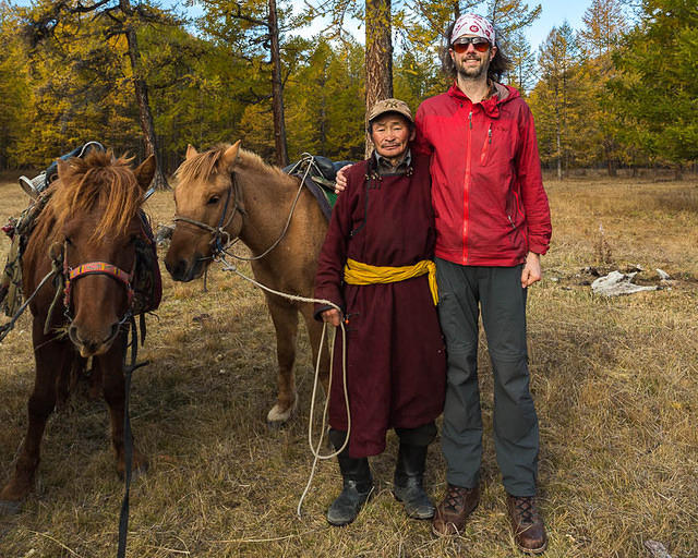 Mongolia: Picture of guide.