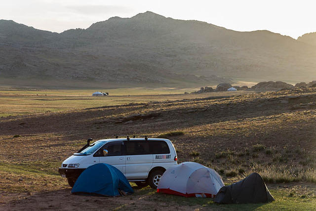 Gobi: Picture of campsite.