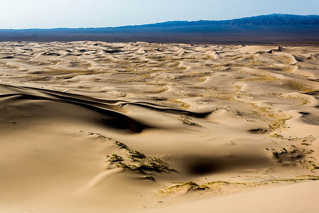Gobi: Picture of sand.