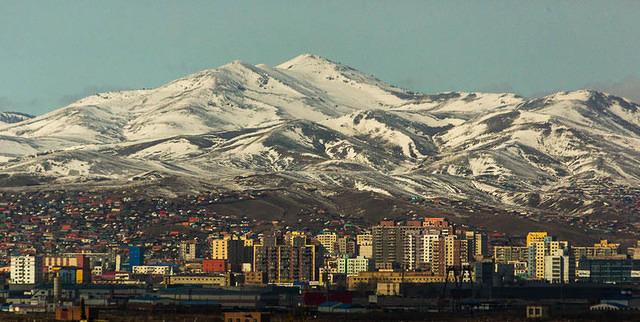 Gobi: Picture of Ulaanbaatar.