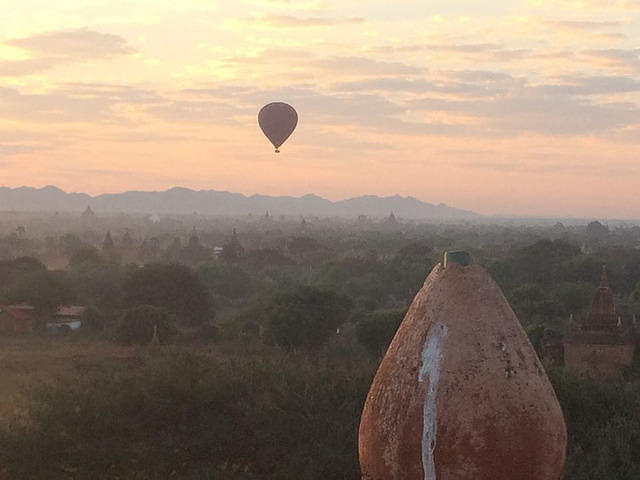 Picture of Bagan, Myanmar.