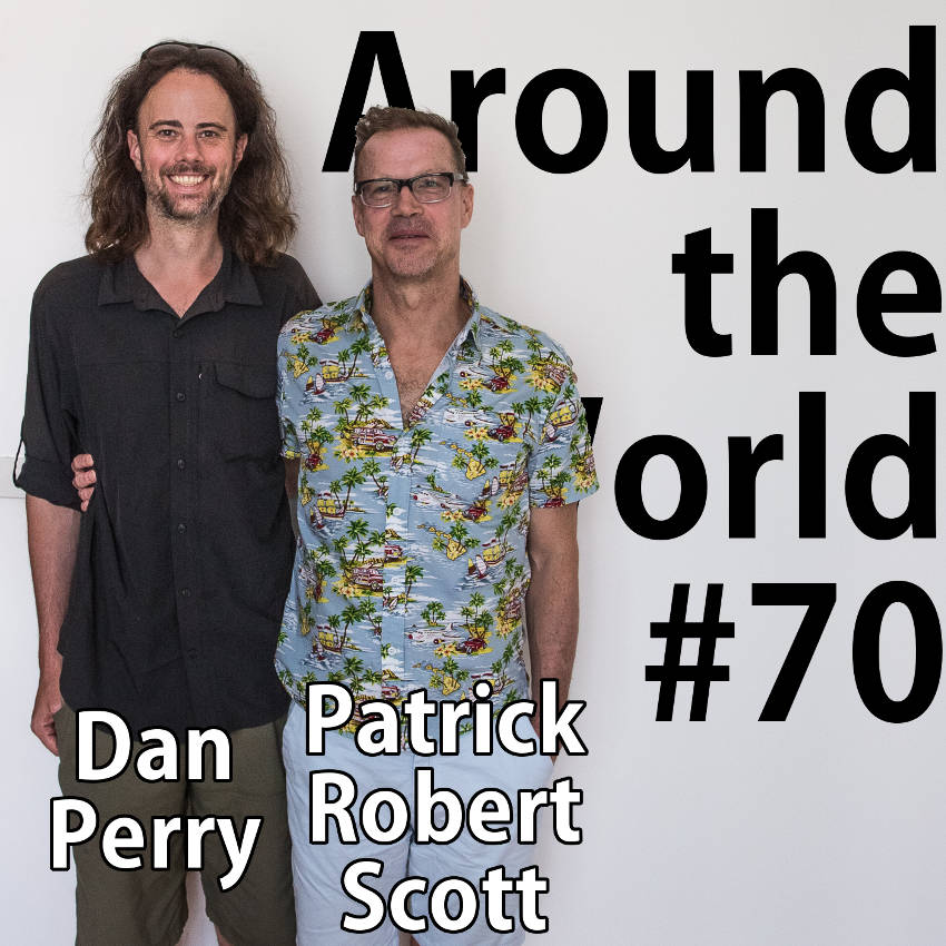 Picture of Dan Perry and Patrick Robert Scott.