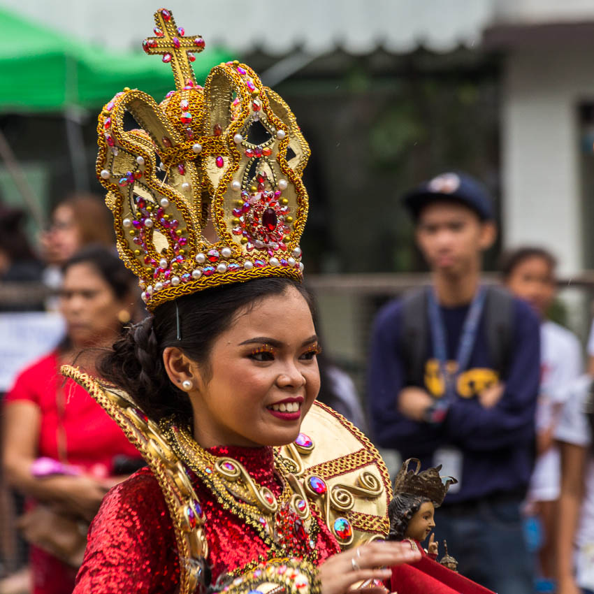 Picture of queen of Sinulog.