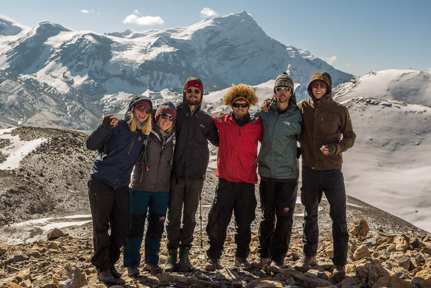 Group photo from Thorung La.
