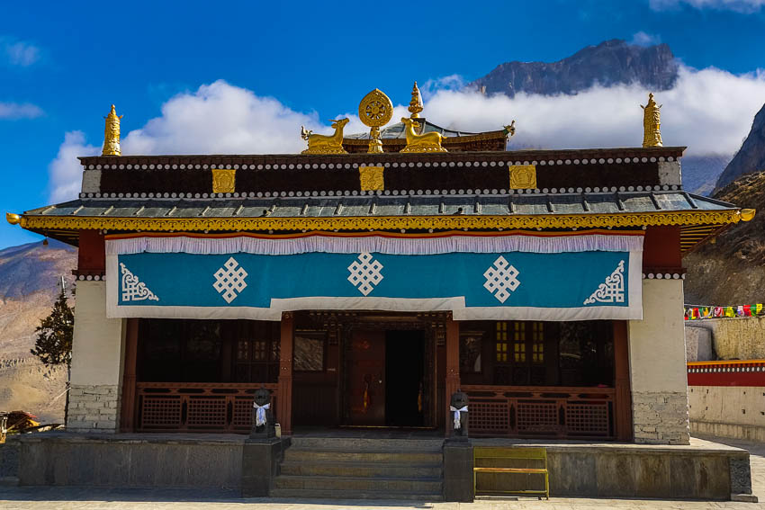 Picture of Muktinath Temple.