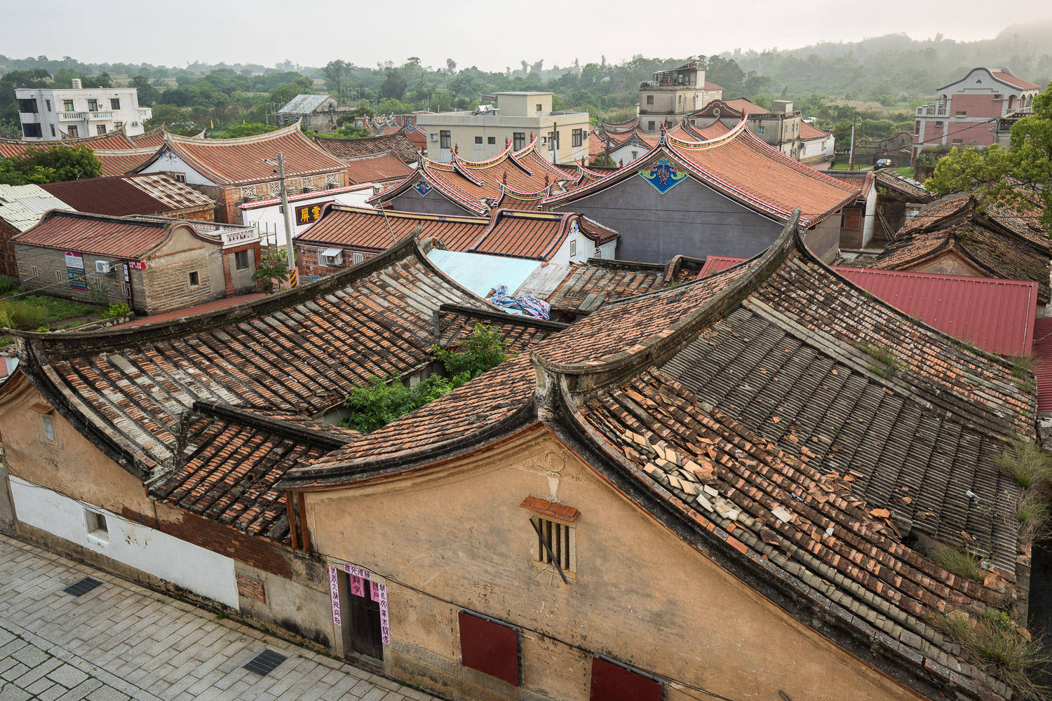 Kinmen: Picture of village.