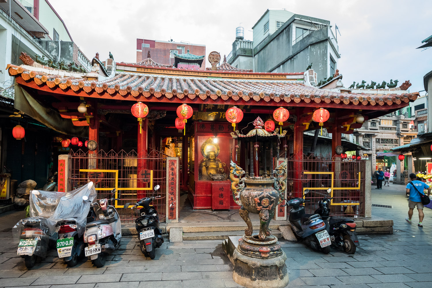 Picture of Jincheng temple.