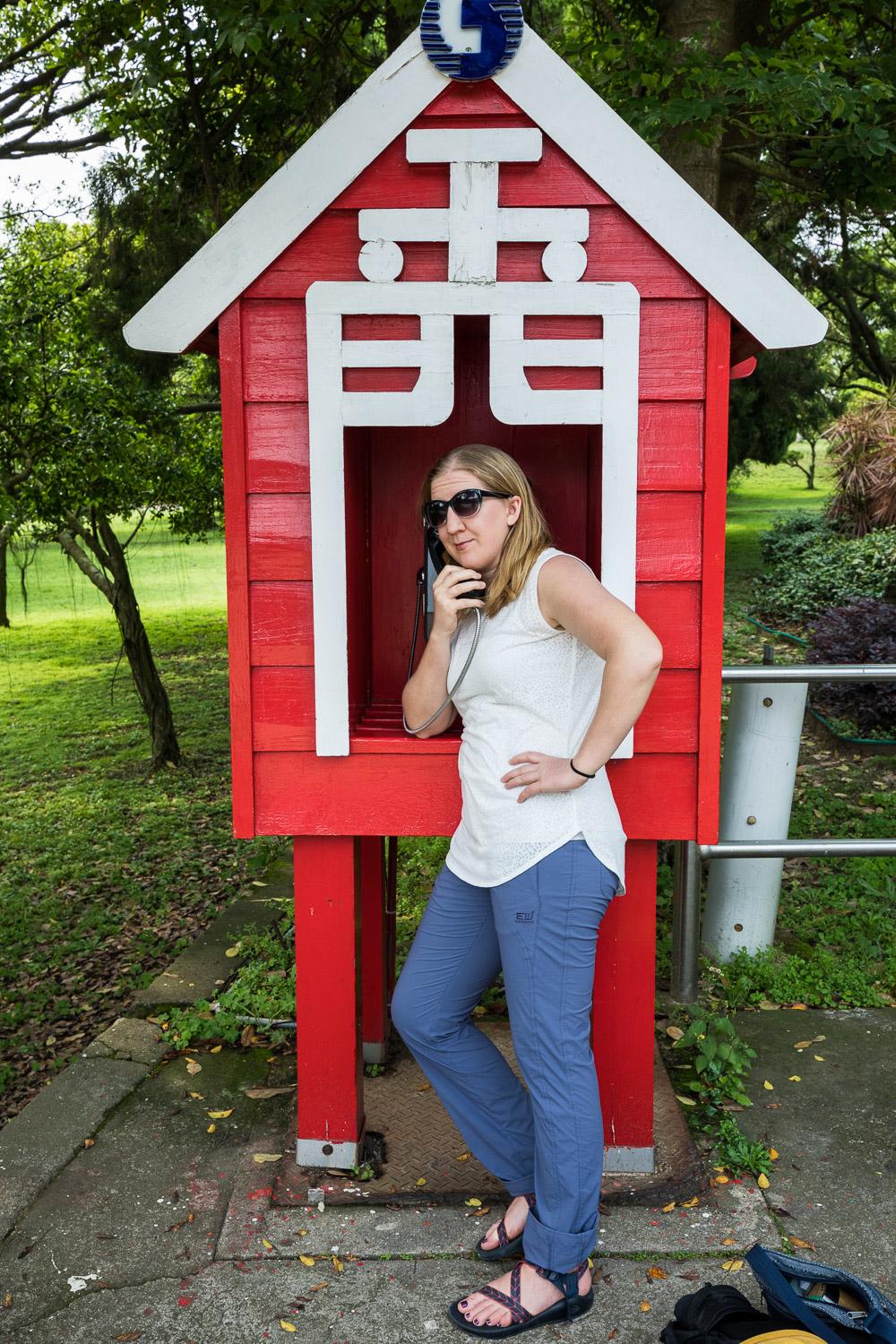 Kinmen: Picture of Jinmen phone booth.
