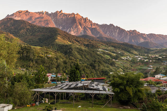 Picture of Kinabalu.