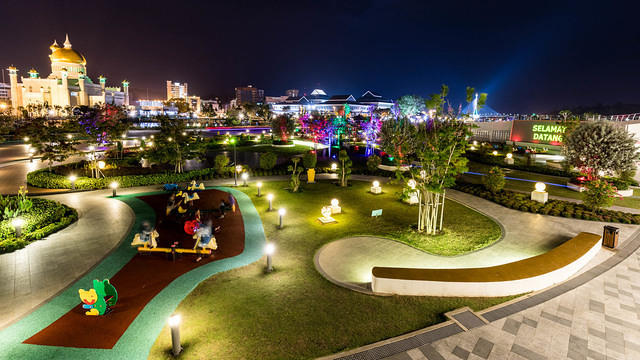 Picture of Mahkota Jubli Emas Park.
