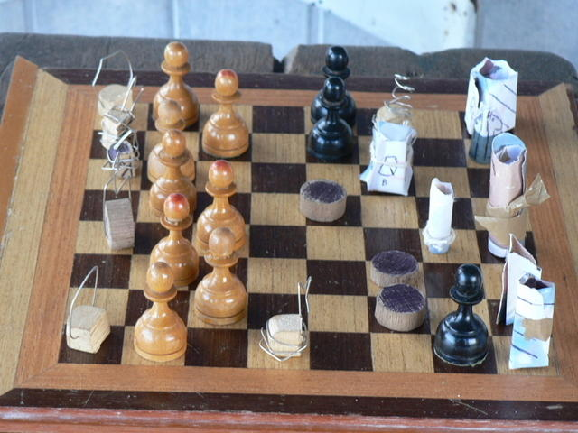 Picture of chess board.
