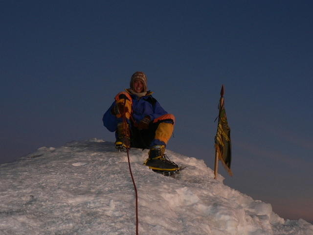 Picture of me at the summit.