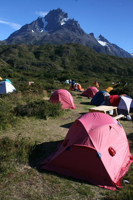 Picture of a campsite.