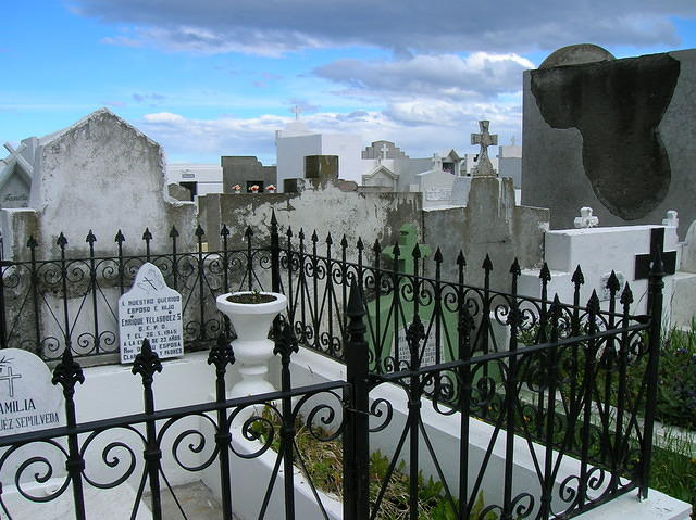 The local cemetery.