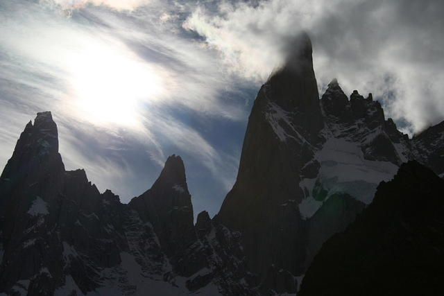 A mountain near Fitz Roy.