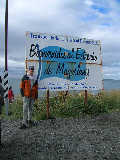 Picture of me at the Straights of Magellan.