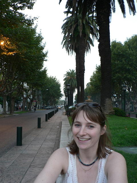 Picture of Andrea in Tigre.