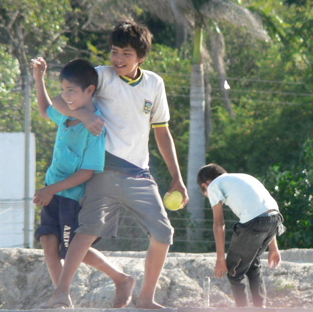 Picture of kids playing.
